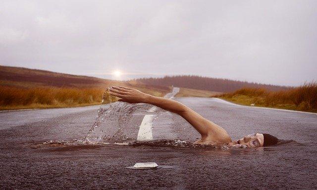 styl plavání