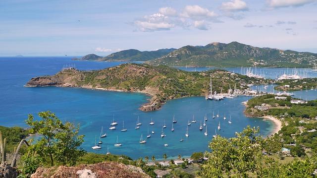lodě v Karibiku