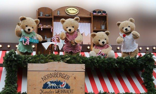 divadýlko s medvídky