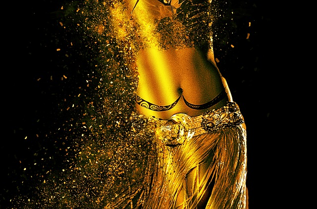 tělo tanečnice
