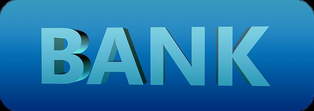 nápis banka